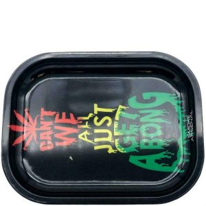 Get A Bong Metal Rolling Tray – Small: 7″ x 5″ –