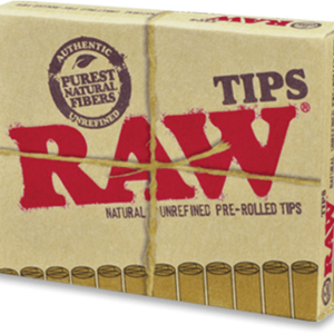 RAW Pre-Rolled Tips – 21 Pre-Rolled Tips per pack –