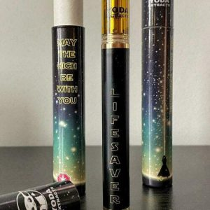 Disposable Vape Pen by Yoda Extracts – AC DC – 1g ( SATIVA )