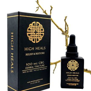 High Heals – 500 MG – CBG Relief and Restore Tincture –