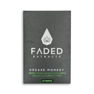 Shatter by Faded Cannabis Co – Grease Monkey – Hybrid