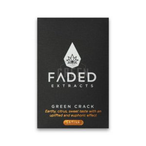 Shatter by Faded Cannabis Co – Green Crack – Sativa