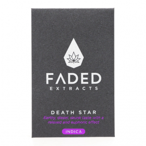 Shatter by Faded Cannabis Co – Death Star – Indica