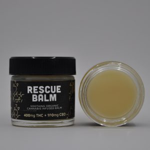 Rescue Balm by Storm Extracts – 2 oz jar – 400 MG THC : 100 MG CBD